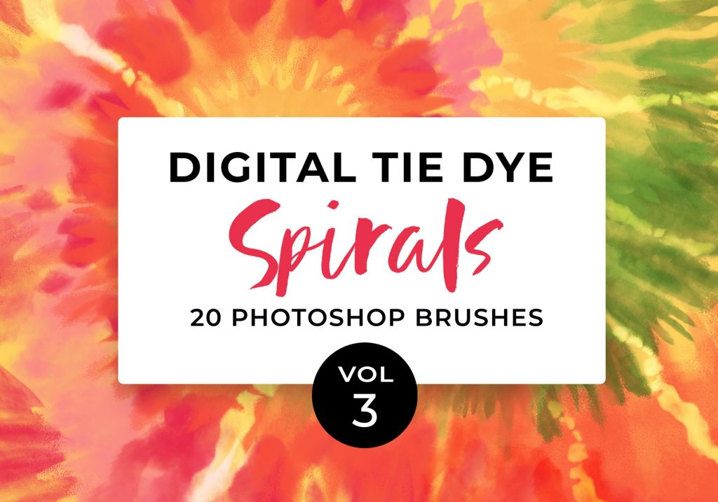 DigitalTieDye-Spirals-Vol3-PhotoshopBrushes_DianePascual_Cover