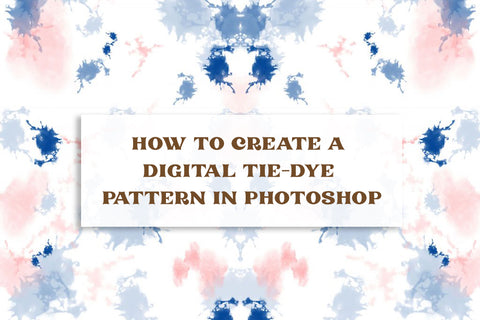 How to Create a Digital Tie-Dye Pattern in Photoshop