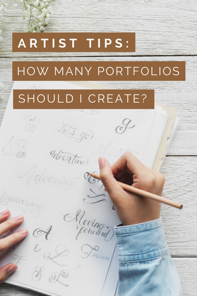 Tips for Artists: How Many Portfolios should I create and what industries can I find work - Diane Pascual - The Gypsy Goddess