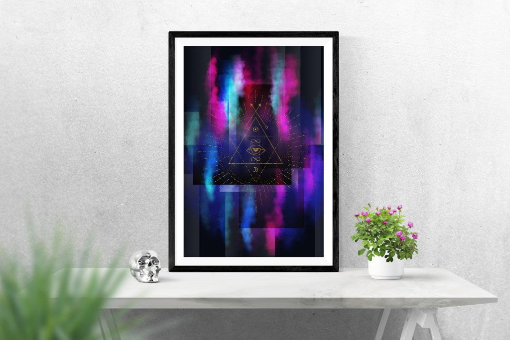 Perfect Union print_Mockup of a poster_DianePascual_TheGypsyGoddess_check it out Redbubble