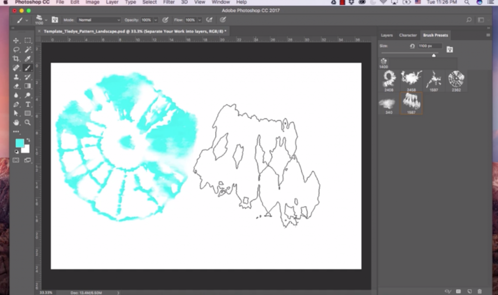 Video 3 - Setting Up Your File in Photoshop - Diane Pascual _ The Gypsy Goddess