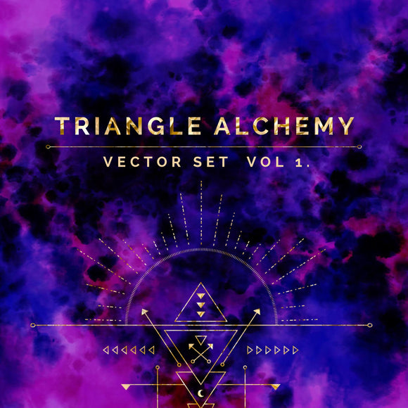 Triangle Alchemy Vector Set