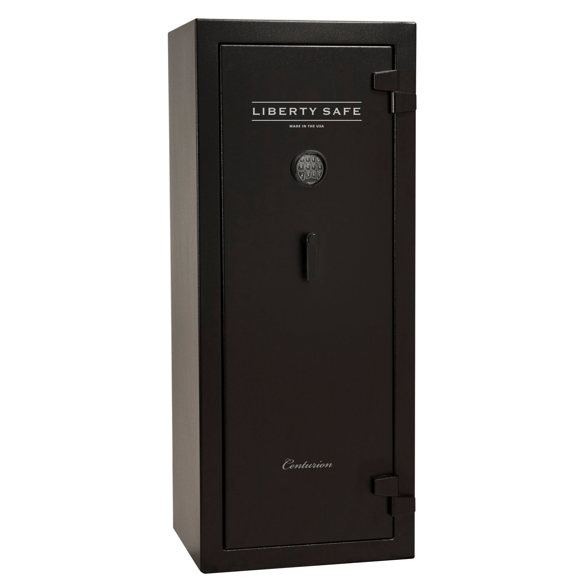 "Centurion | 18 | Level 1 Security | 30 Minute Fire Protection | Black | Black Electronic Lock | 59.5""(H) x 24.25""(W) x 22""(D)"