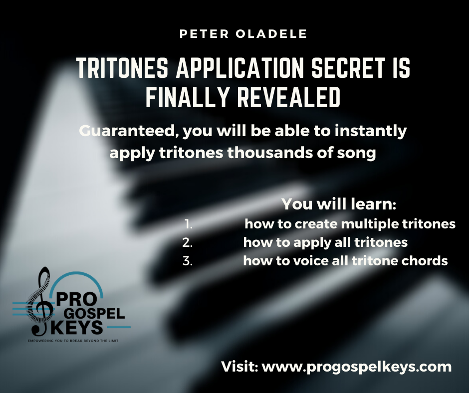 Tritone Application Secret is Finally Revealed