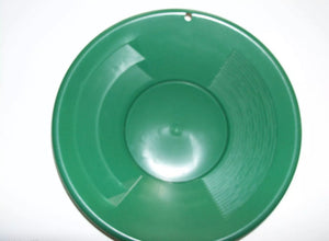 "SE 8"" PANNING GOLD PAN - GREEN, SNIFFER, VIAL"