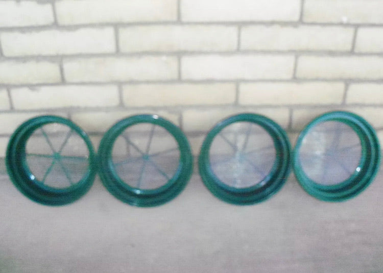 4pc CLASSIFIER SIFTING PANS 4 YOUR GOLD PANNING 30, 50, 70, 100