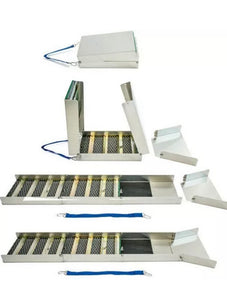 "50"" Folding Aluminum Sluice Box  & Gold Panning Kit with Pocket Scale SAME DAY SHIPPING!!!!!!!!!!!!!!!"