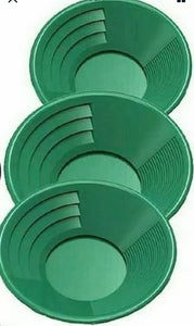 "50"" Folding Aluminum Sluice Box 3 Green Gold Pans & FREE Digiweigh Pocket Scale SAME DAY SHIPPING!!!!!!!!!!!!!!!"