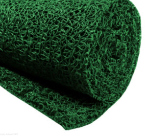 "GREEN MINER'S MOSS 12""X36""Sluice Box Matting, Gold Panning"