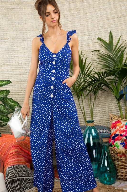 Crescent Moon Jumpsuit - Miralinda Shoppe