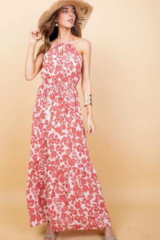 Cranberry Maxi Dress - Miralinda Shoppe