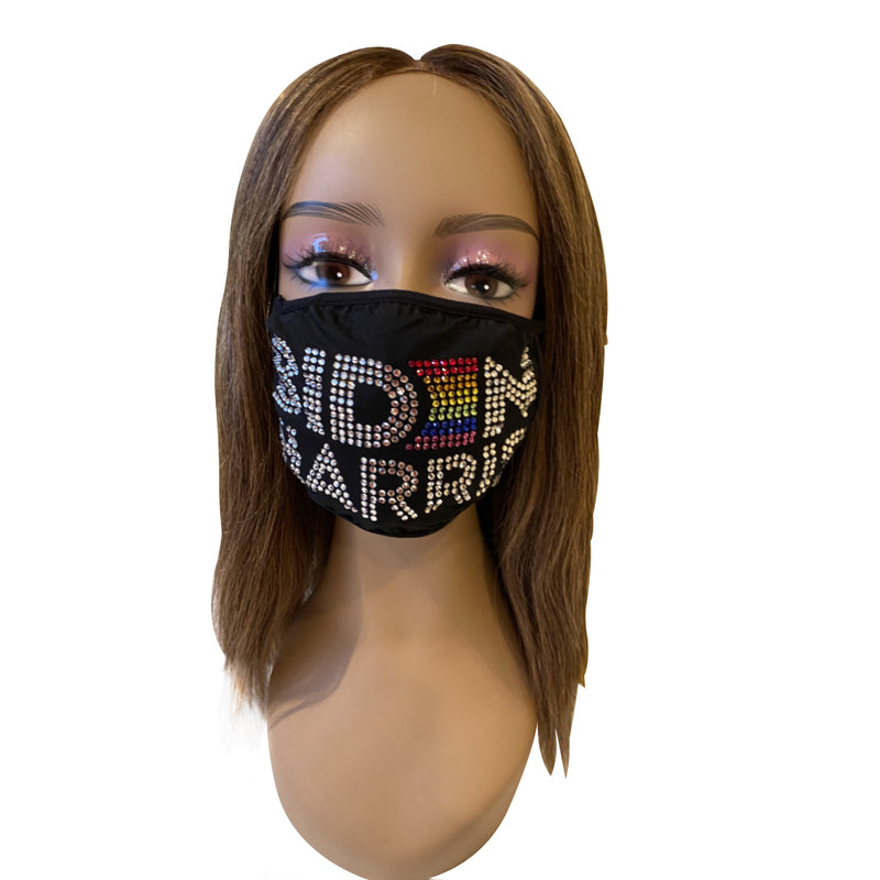 Biden Harris 2020 Gay Pride Rainbow Mask