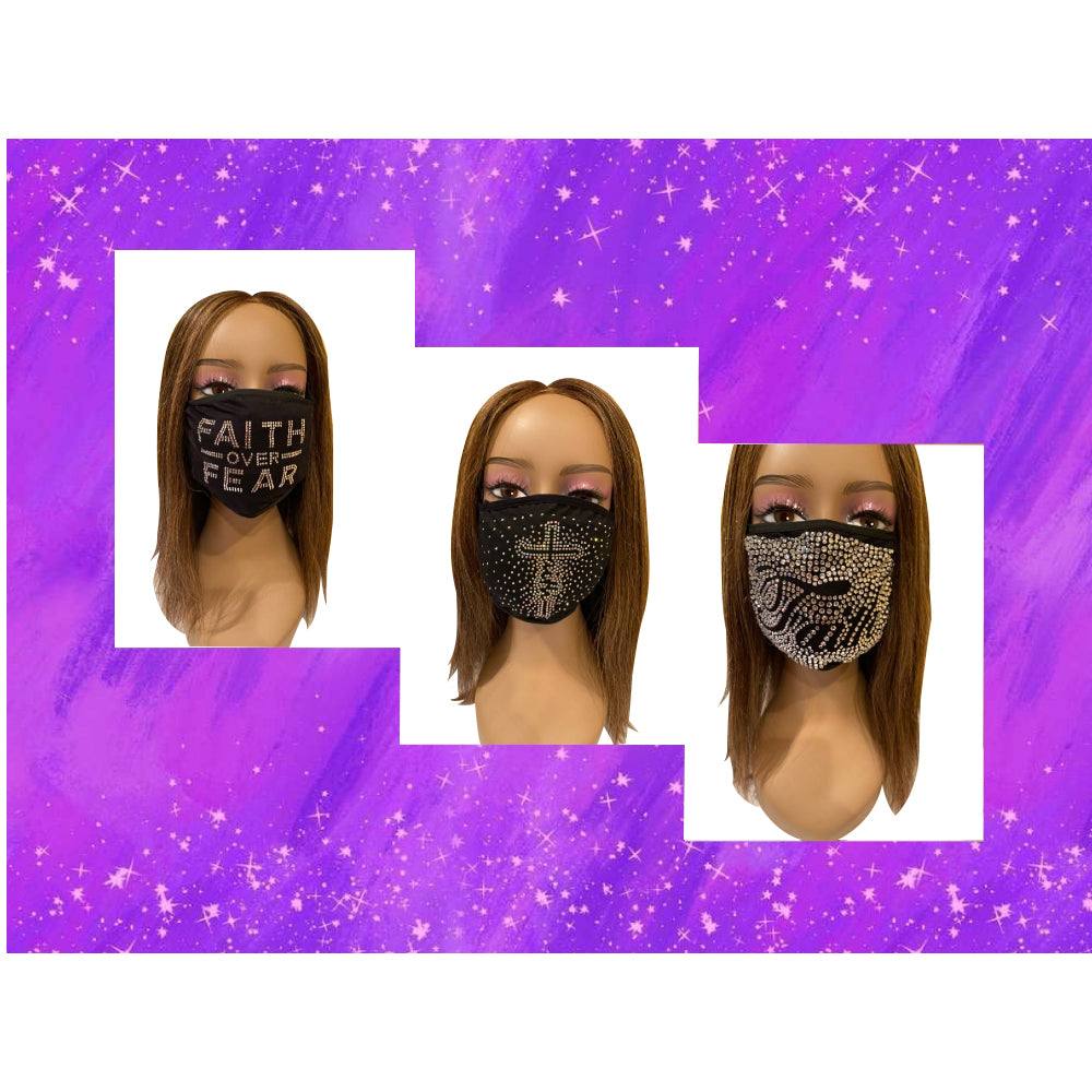 Christian Have Faith Face Mask Trio Bundle