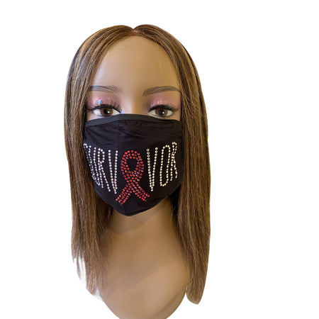 Breast Cancer Awareness Survivor Mask