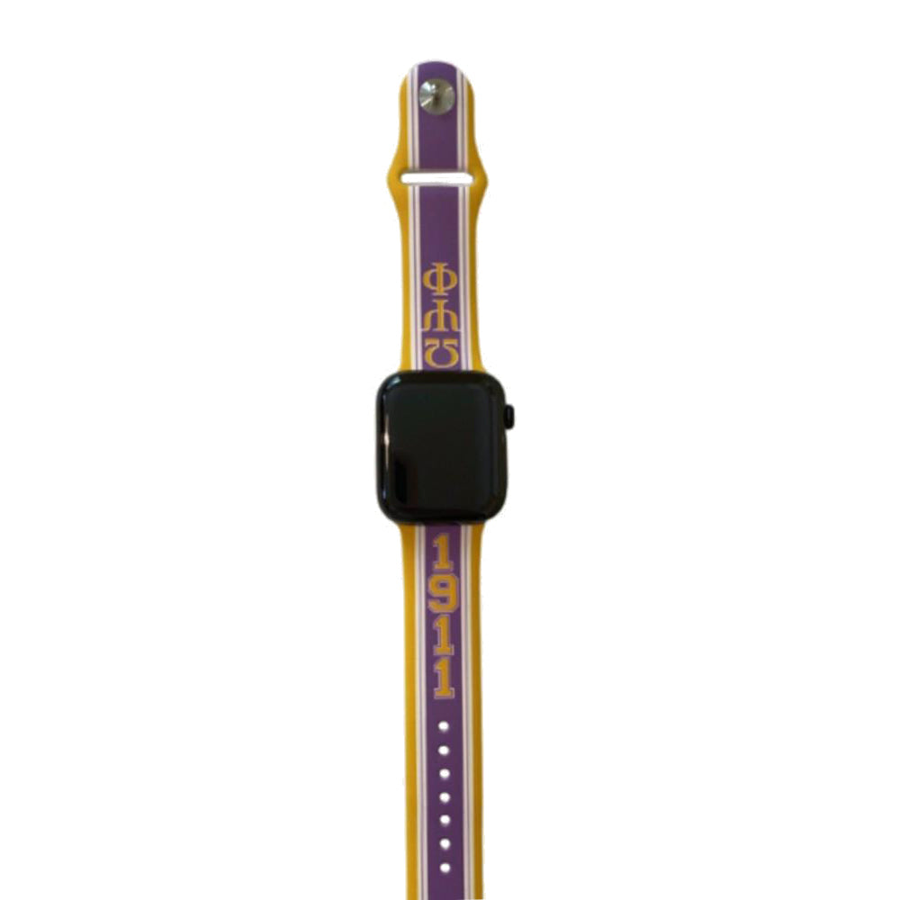 Omega Psi Phi Apple Watch Band Size 42/44