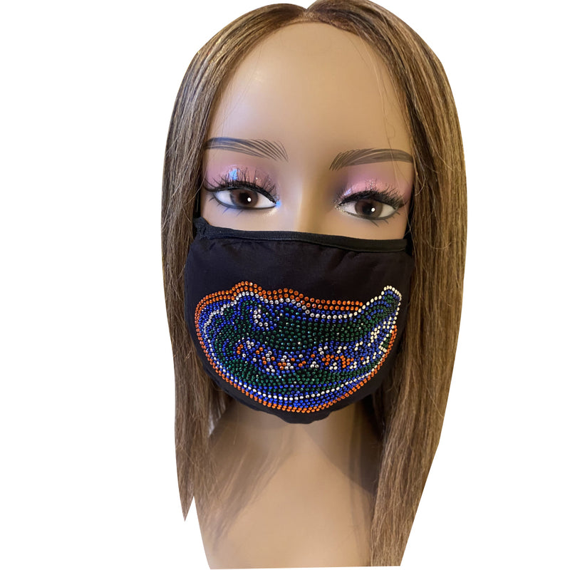 University of Florida Gators Bling Face Mask