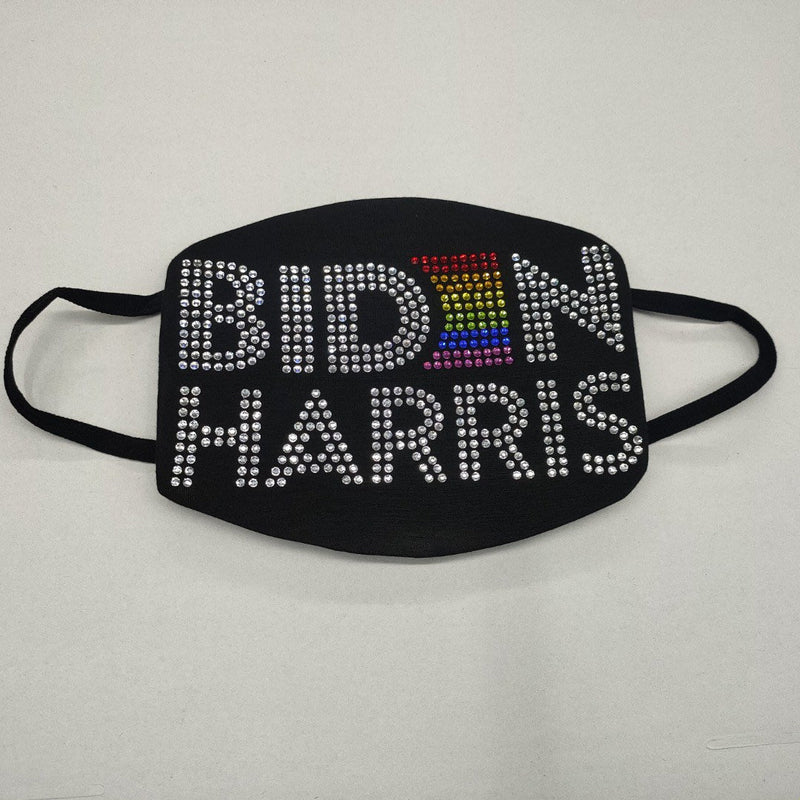 Biden Harris 2020 Gay Pride Rainbow Mask | Simply For Us