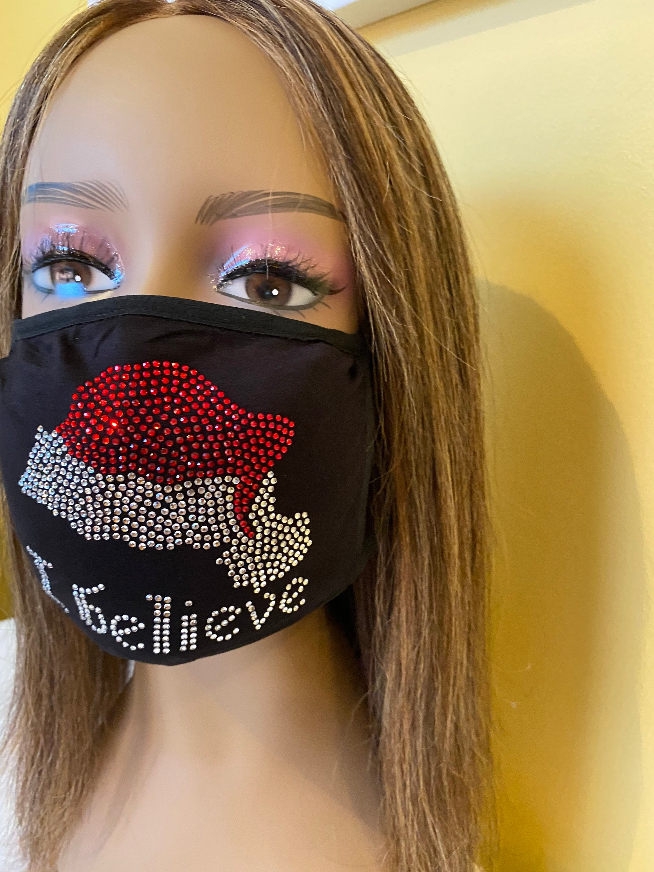Christmas Face Mask I Believe | Simply For Us