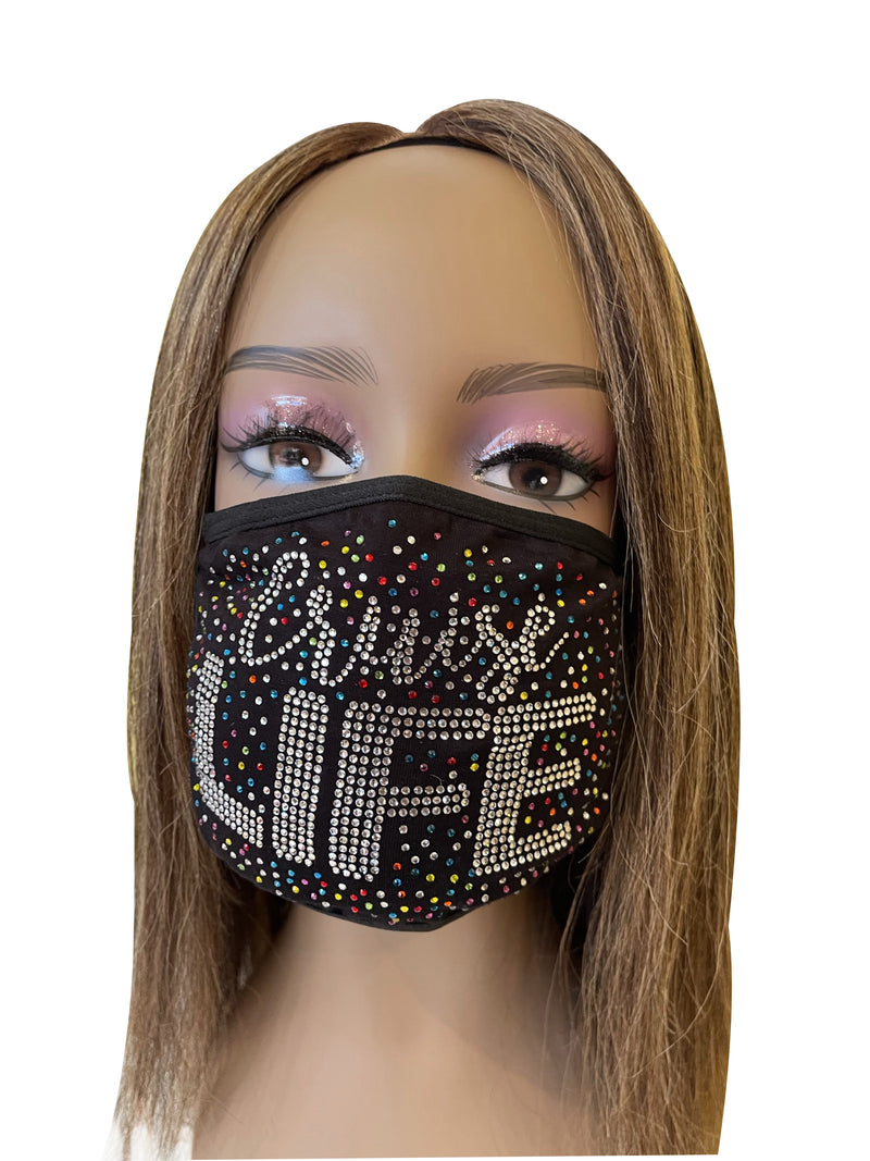 Cruise Life Rhinestone Bling Face Mask