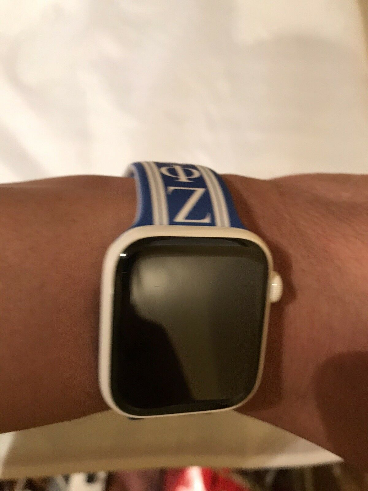 Zeta Phi Beta Apple Watch Band Size 42/44