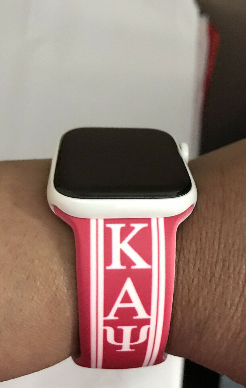 Kappa Alpha Psi Silicone Apple Watch Band Size 42/44