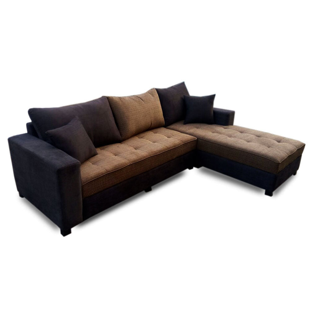 Savana Fabric Sectional Sofa Set | 9ft