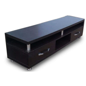Cierra Brown Wooden TV Stand | 4ft - Domestico Furniture