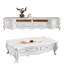 Load image into Gallery viewer, Delmar White Marble Center table - Domestico Furniture