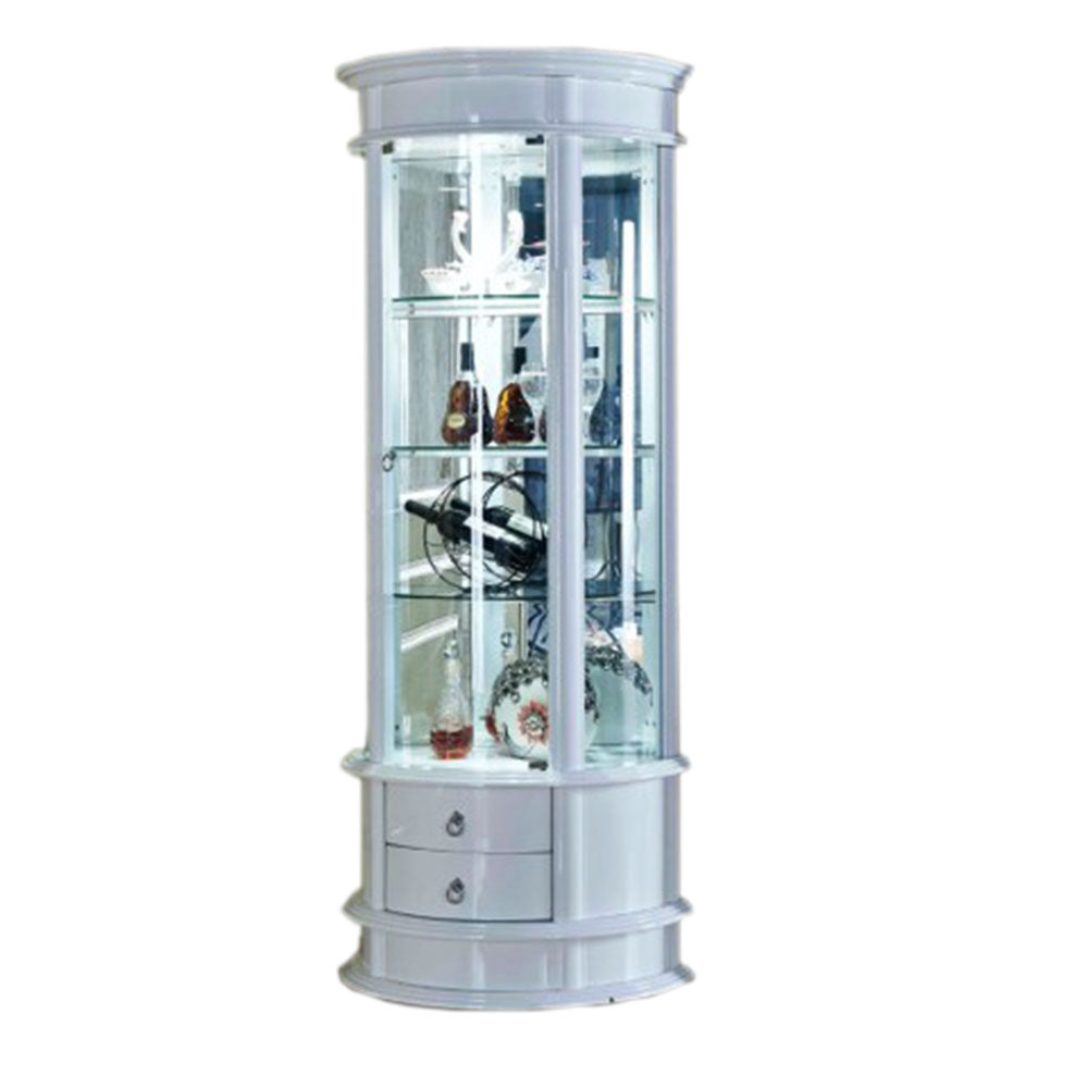 Arsen Corner Wine Display Cabinet