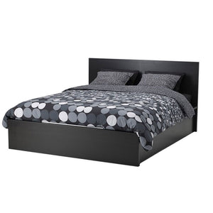 Reno Black Bed with Option of Bedsides - Domestico Furniture