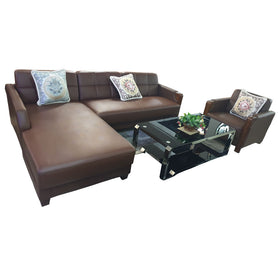 Felipe Fabric Sectional Sofa Set - Domestico Furniture