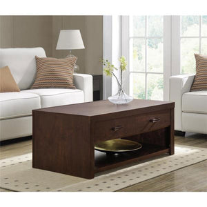 Nigel Brown wooden Center table - Domestico Furniture