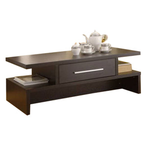 Fonzo Brown Wooden Center table - Domestico Furniture