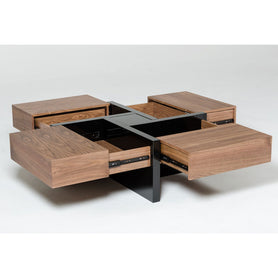 Filip Brown Center Table - Domestico Furniture
