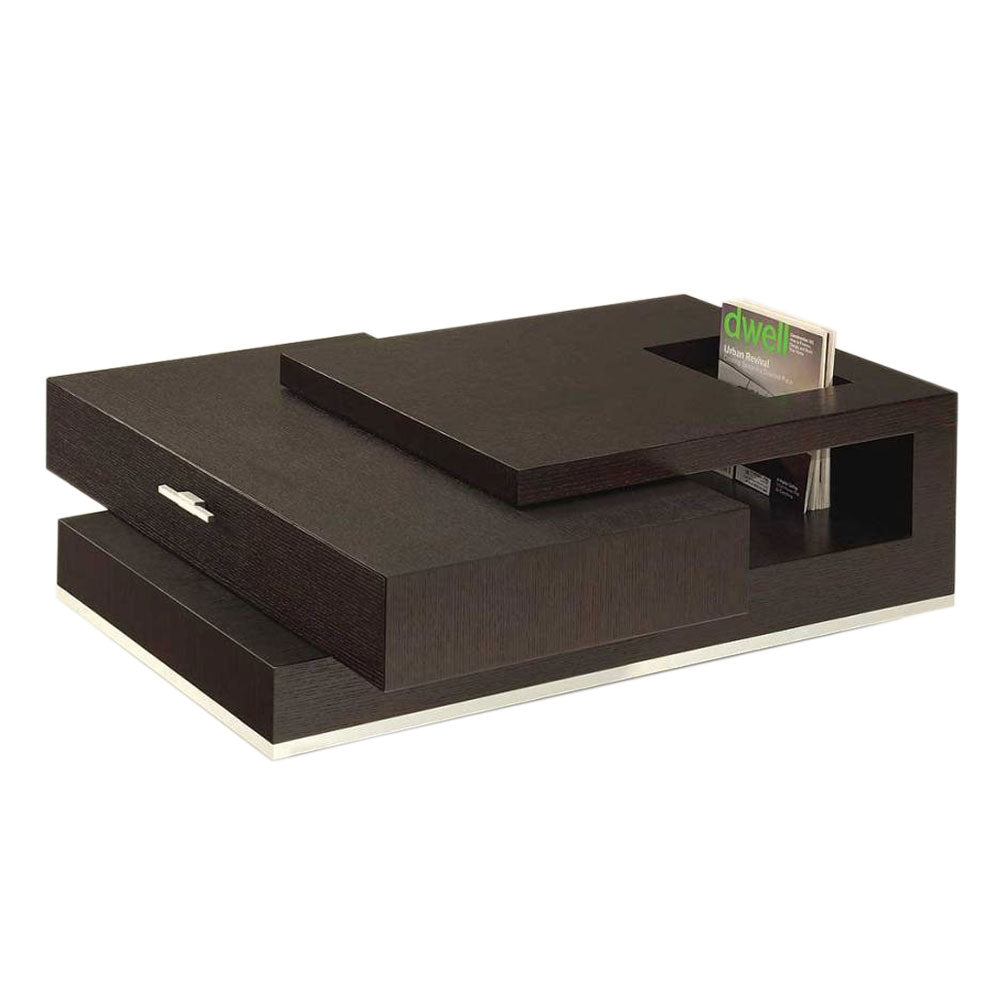 Deja Brown Center Table - Domestico Furniture