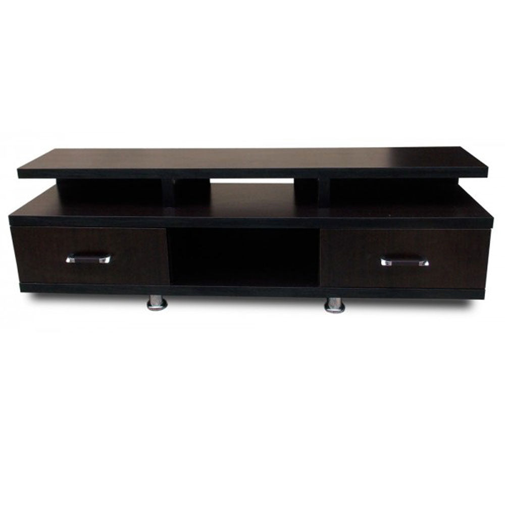 Bronko Brown Wooden TV Stand | 5ft - Domestico Furniture