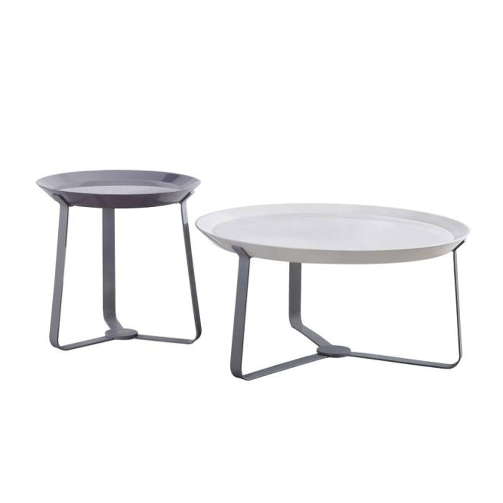 Tenley Center table + 2 Side Stools - Domestico Furniture