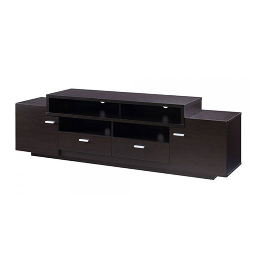 Lorentz Brown Wooden TV Stand | 5ft