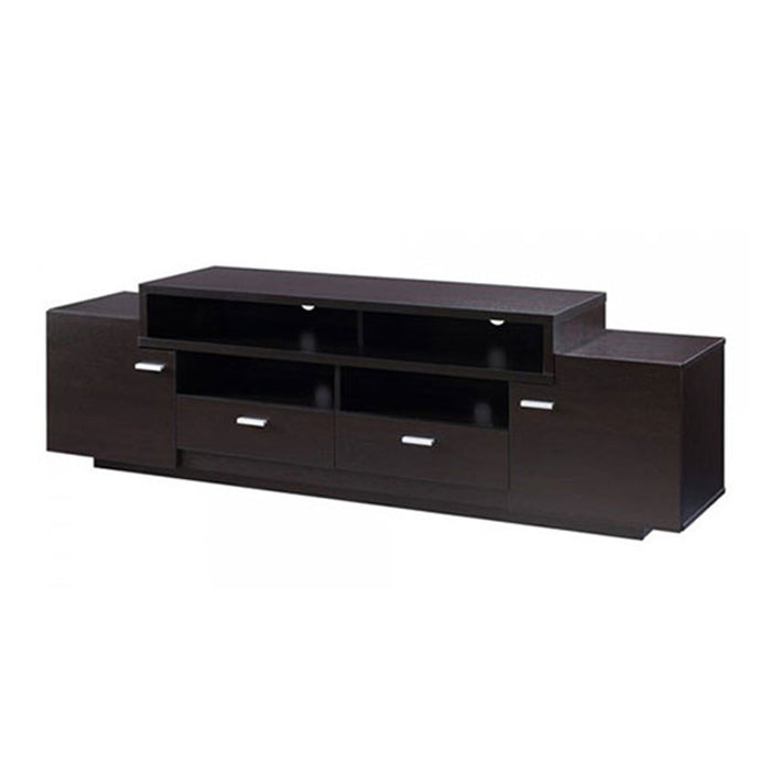 Lorentz Brown Wooden TV Stand | 5ft - Domestico Furniture