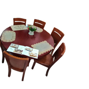 Elian 6 Seaters Round Dining Set - Domestico Furniture