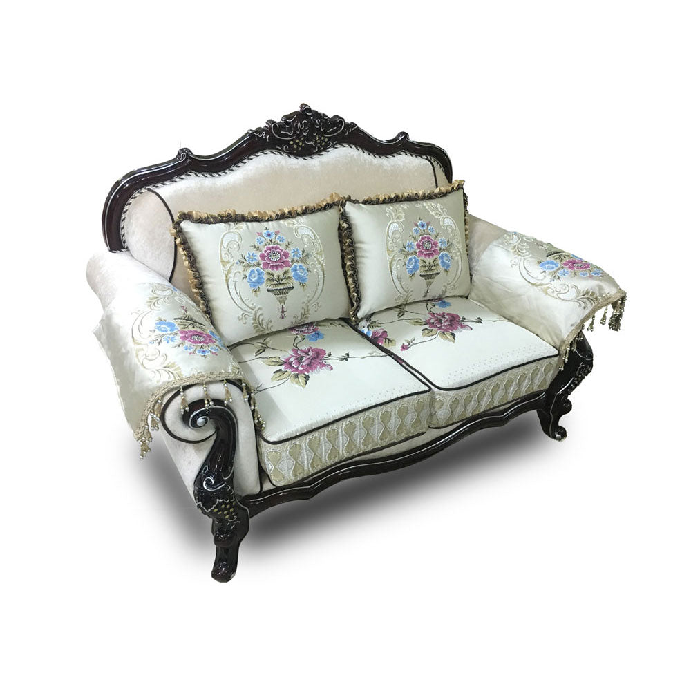 Jose 7 Seater Royal Fabric Sofa Set