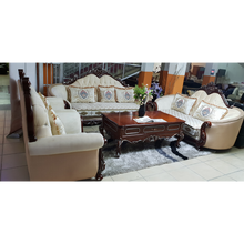 Load image into Gallery viewer, Luis 7 Seater Fabric Royal Sofa Set