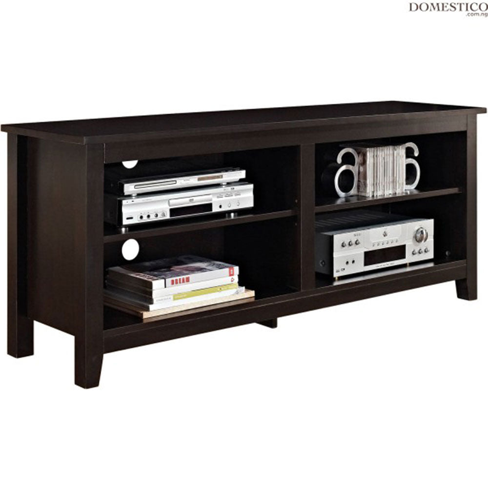 Dino Brown Wooden TV Stand | 5ft - Domestico Furniture