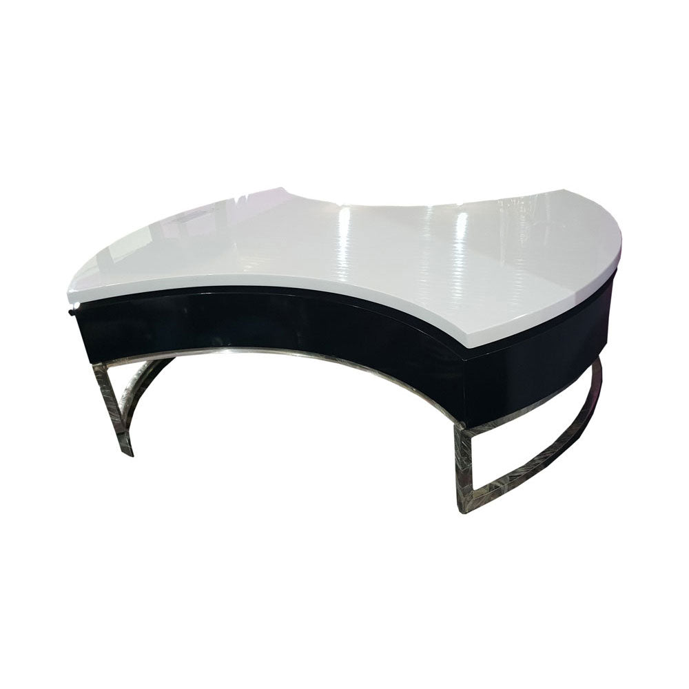 Shimon Brown Glass Center table - Domestico Furniture