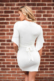 Weekend Getaway Dress - Ivory - 512 Boutique