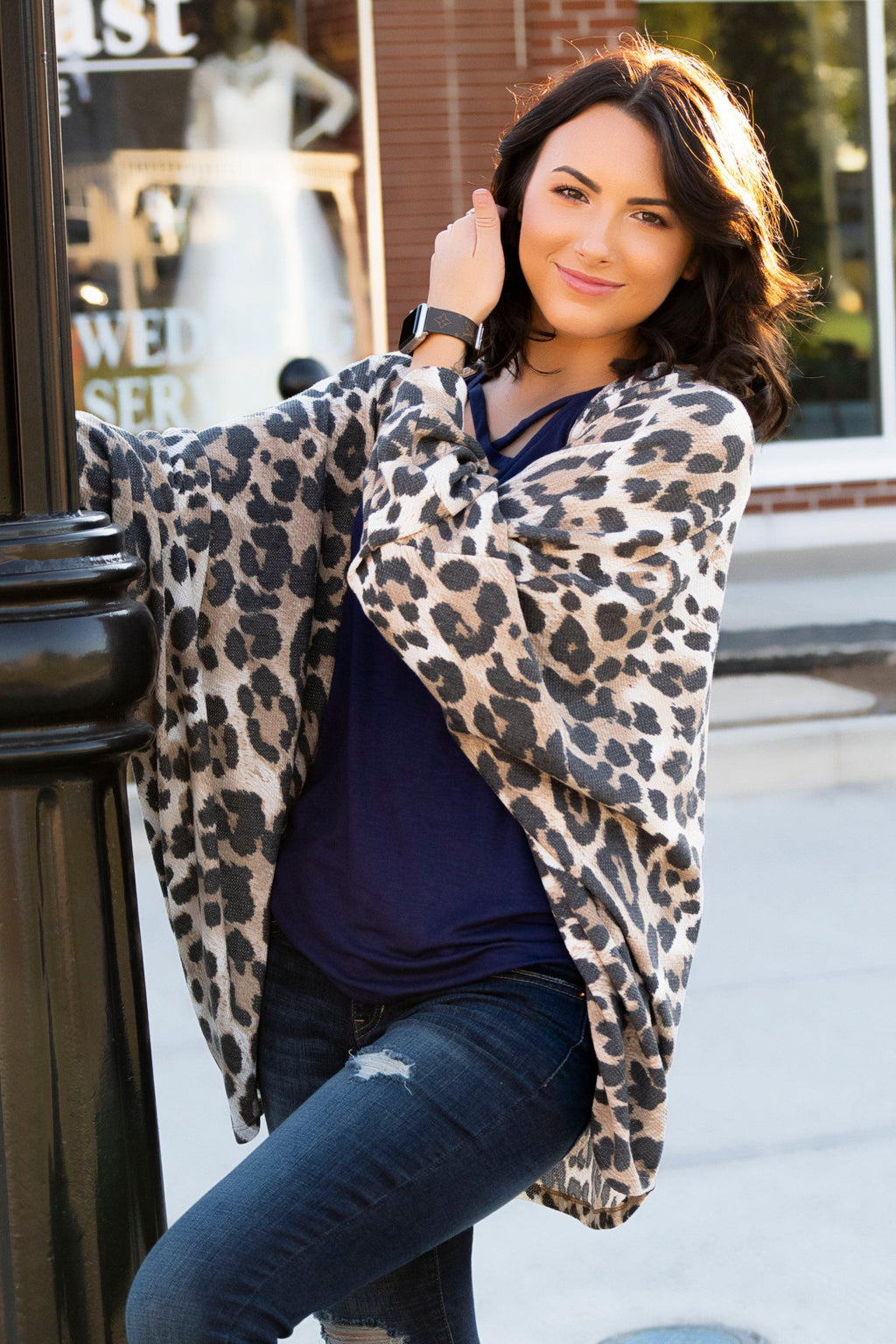 Beachy Nights Animal Print Cardigan - 512 Boutique