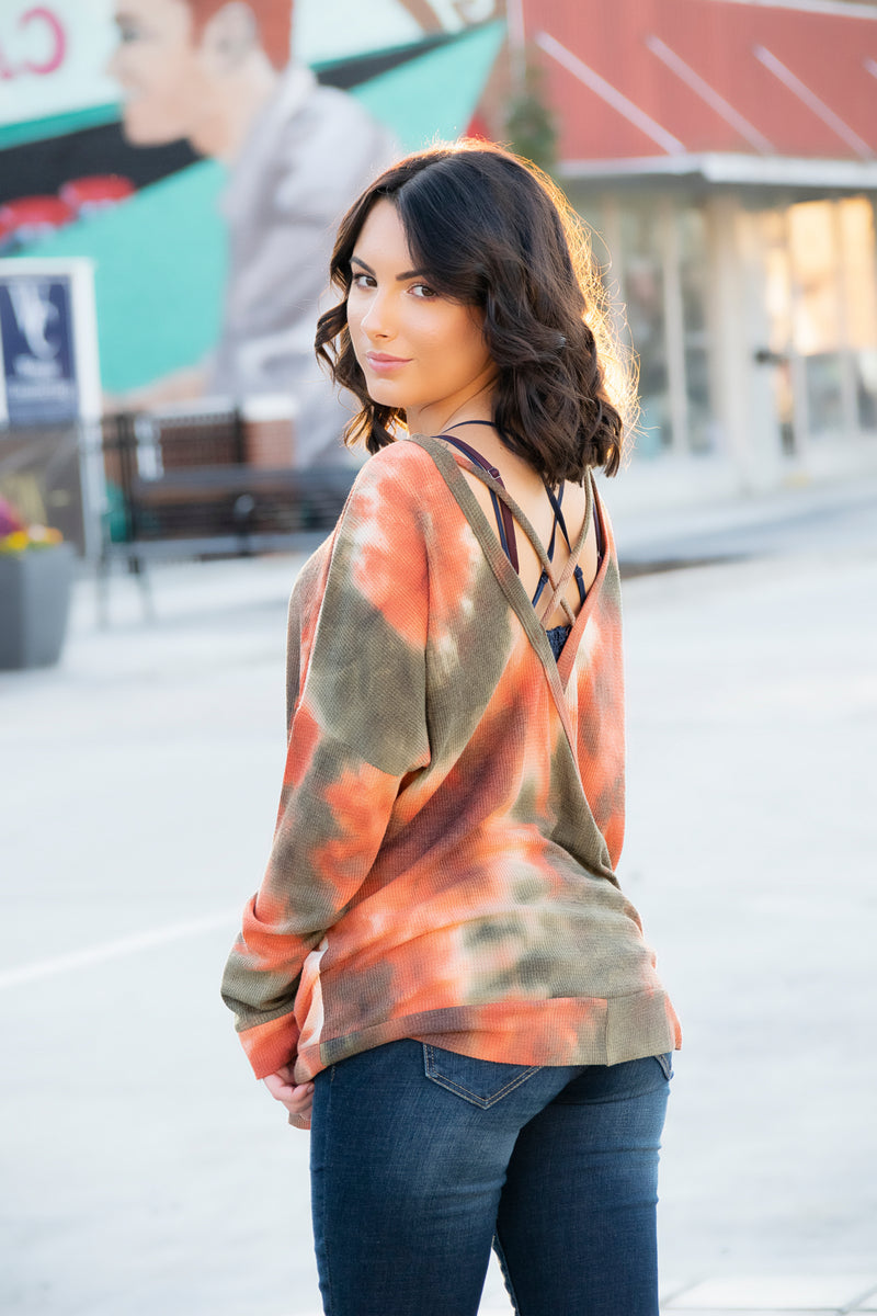 Fallin Tye Dye Top - 512 Boutique
