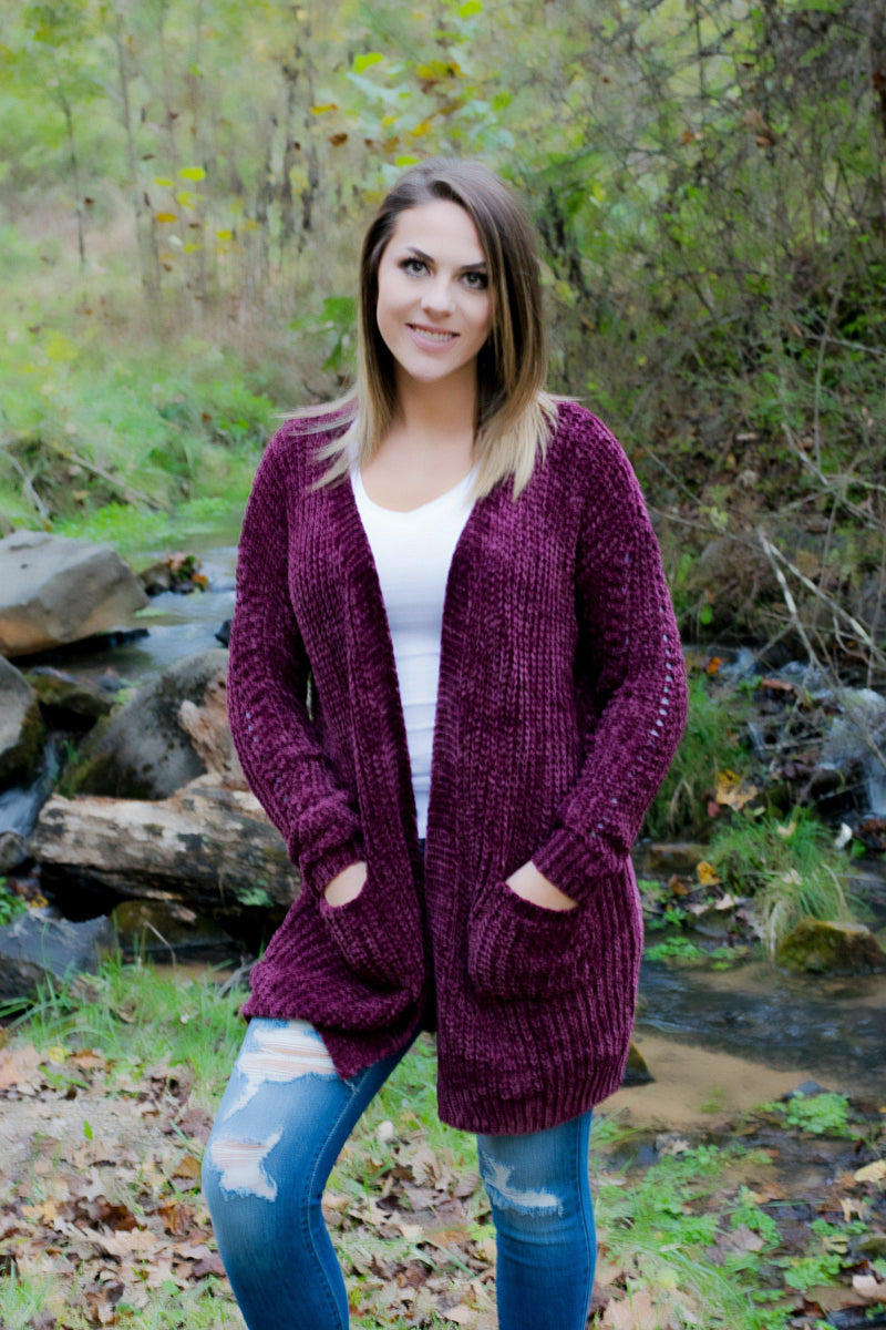 Oh So Sassy  Quilted Vest- Mauve