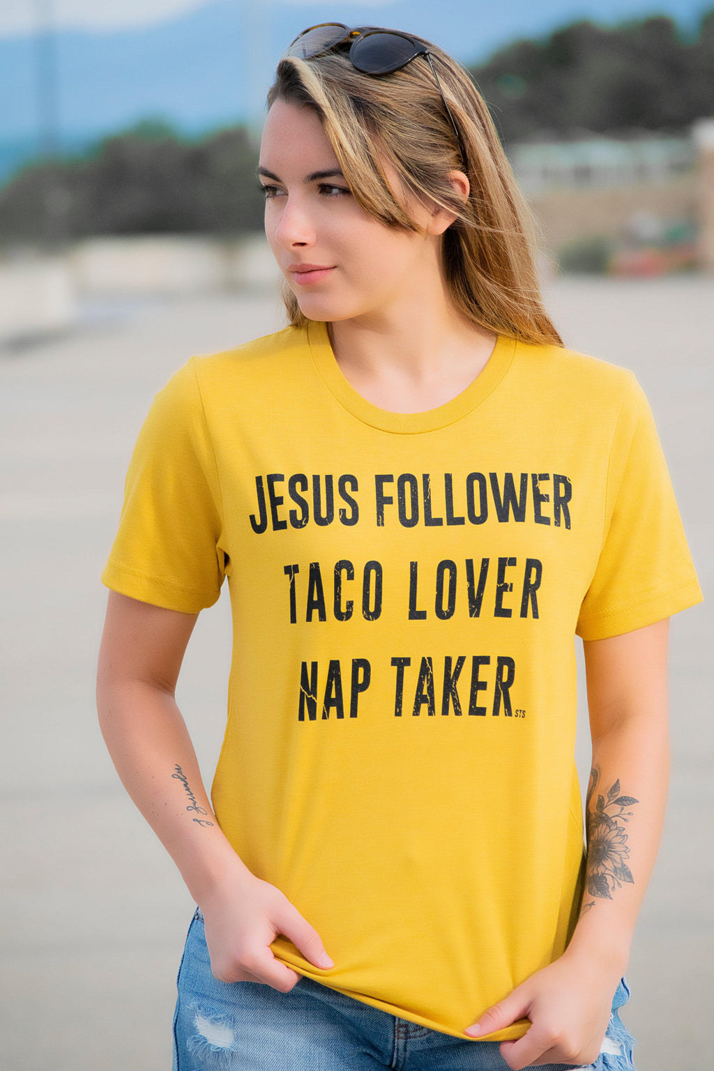 Jesus, Taco and Naps Tee - 512 Boutique