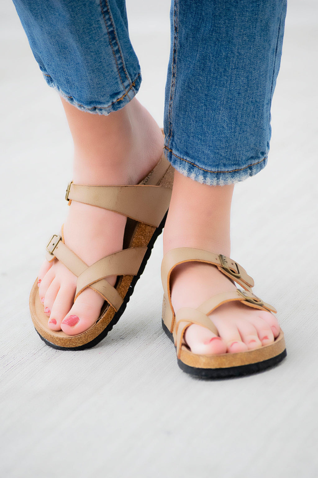 The Nora Sandal- Nude - 512 Boutique